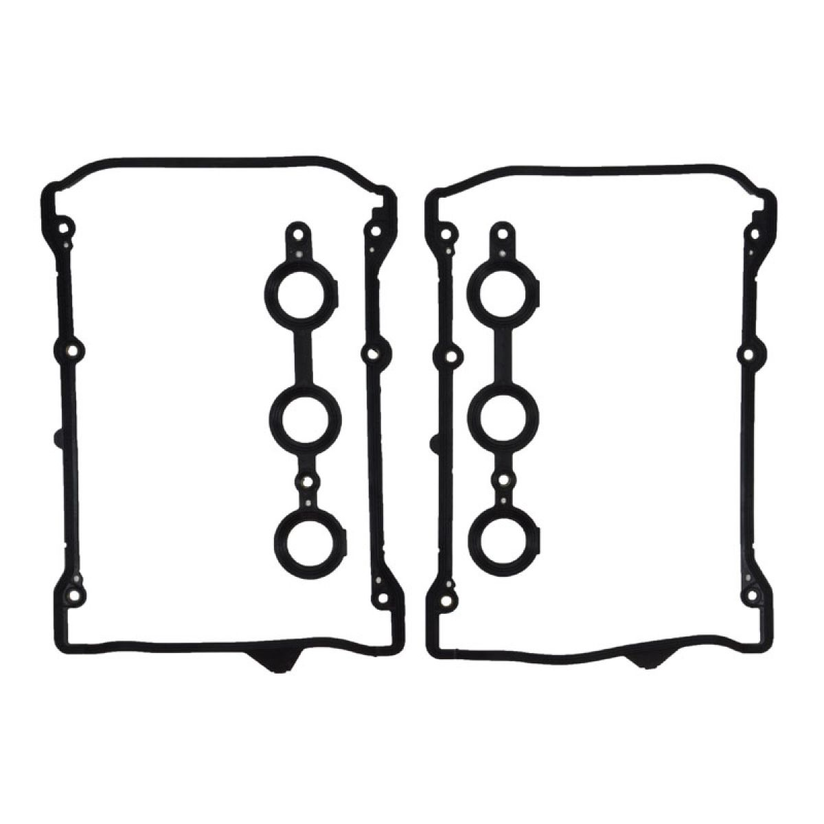 Valve Cover Gasket Set w/ Spark Plug Tube Seals for Audi
