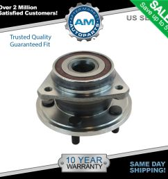 front wheel bearing hub assembly for jeep wrangler grand cherokee [ 1600 x 1600 Pixel ]