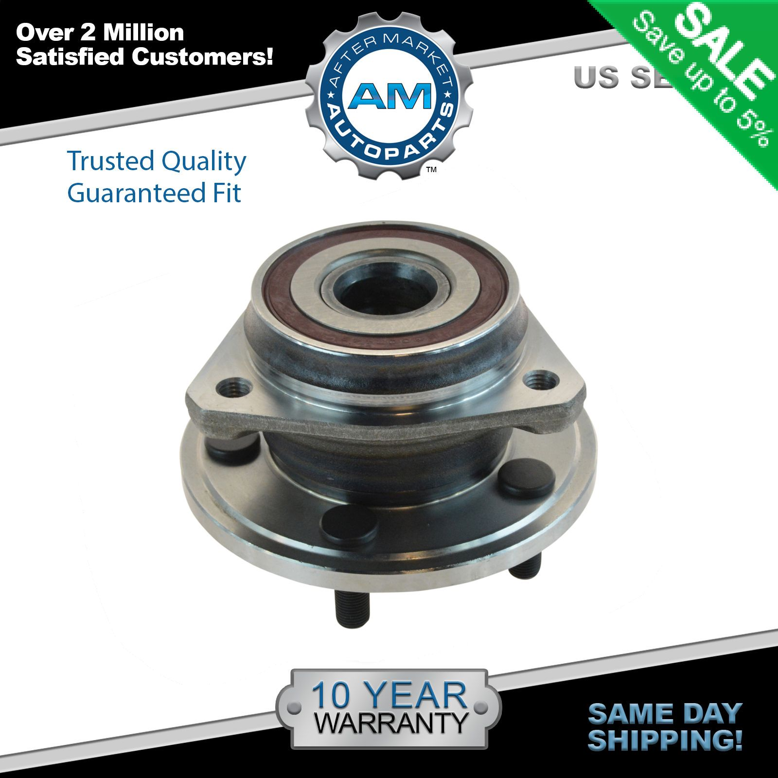 hight resolution of front wheel bearing hub assembly for jeep wrangler grand cherokee