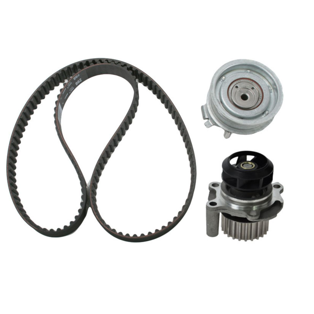 hight resolution of timing belt set kit w water pump for volkswagen vw golf jetta beetle 2 0l