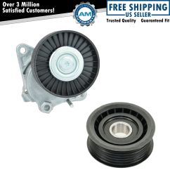 Chrysler 3 8 Serpentine Belt Diagram Aiphone Lef Wiring Tensioner And Idler Pulley Kit For