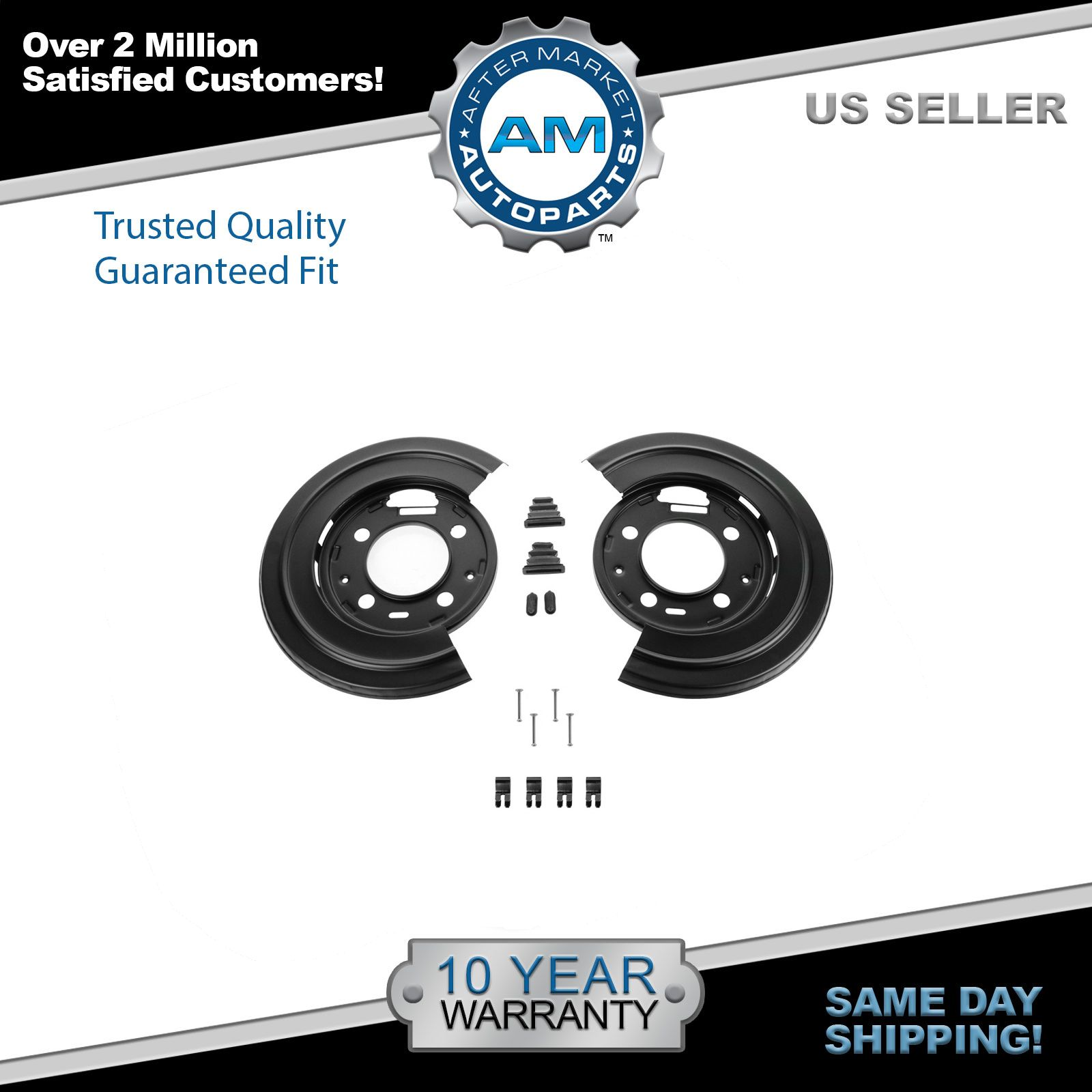 hight resolution of dorman rear brake dust shield backing plates pair for ford f250 f350 excursion