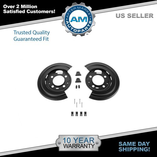small resolution of dorman rear brake dust shield backing plates pair for ford f250 f350 excursion