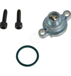 motorcraft cm5016 fuel filter press relief valve cap kit for ford truck van 7 3l [ 1200 x 1200 Pixel ]