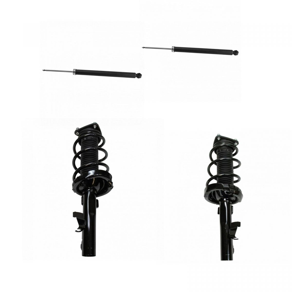 Complete Loaded Strut Spring Front Rear Absorber Kit 4pc