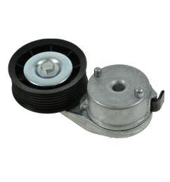 serpentine belt tensioner pulley for chrysler aspen durango ram pickup 5 7 l [ 1200 x 1200 Pixel ]