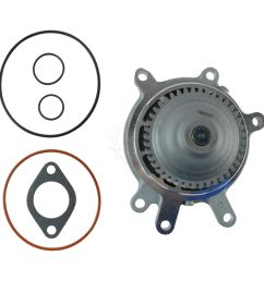 ac delco professional series 252 838 engine water pump for chevy gmc pickup new [ 1200 x 1200 Pixel ]