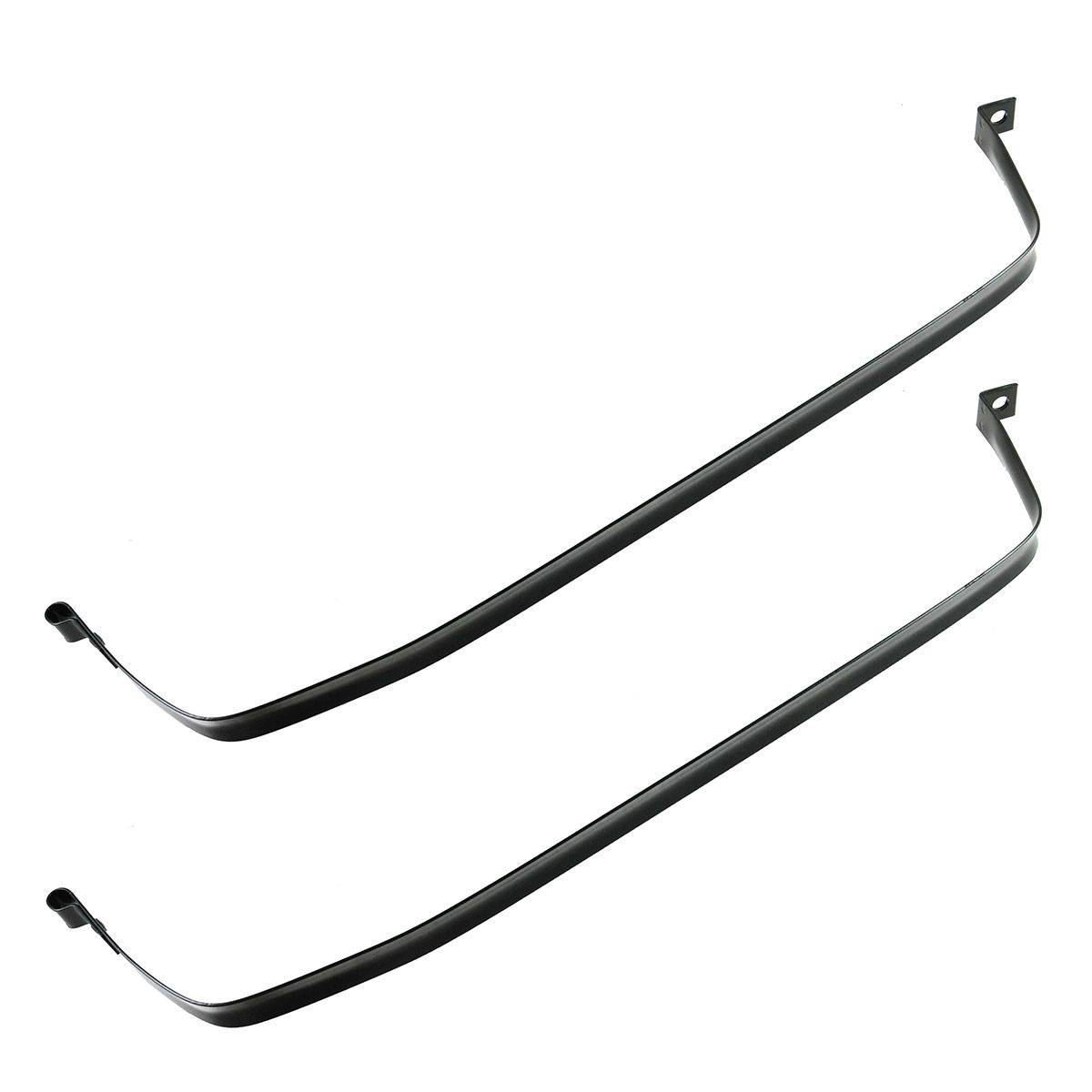 Gas Fuel Tank Strap Straps Set Pair For Chevy El Camino
