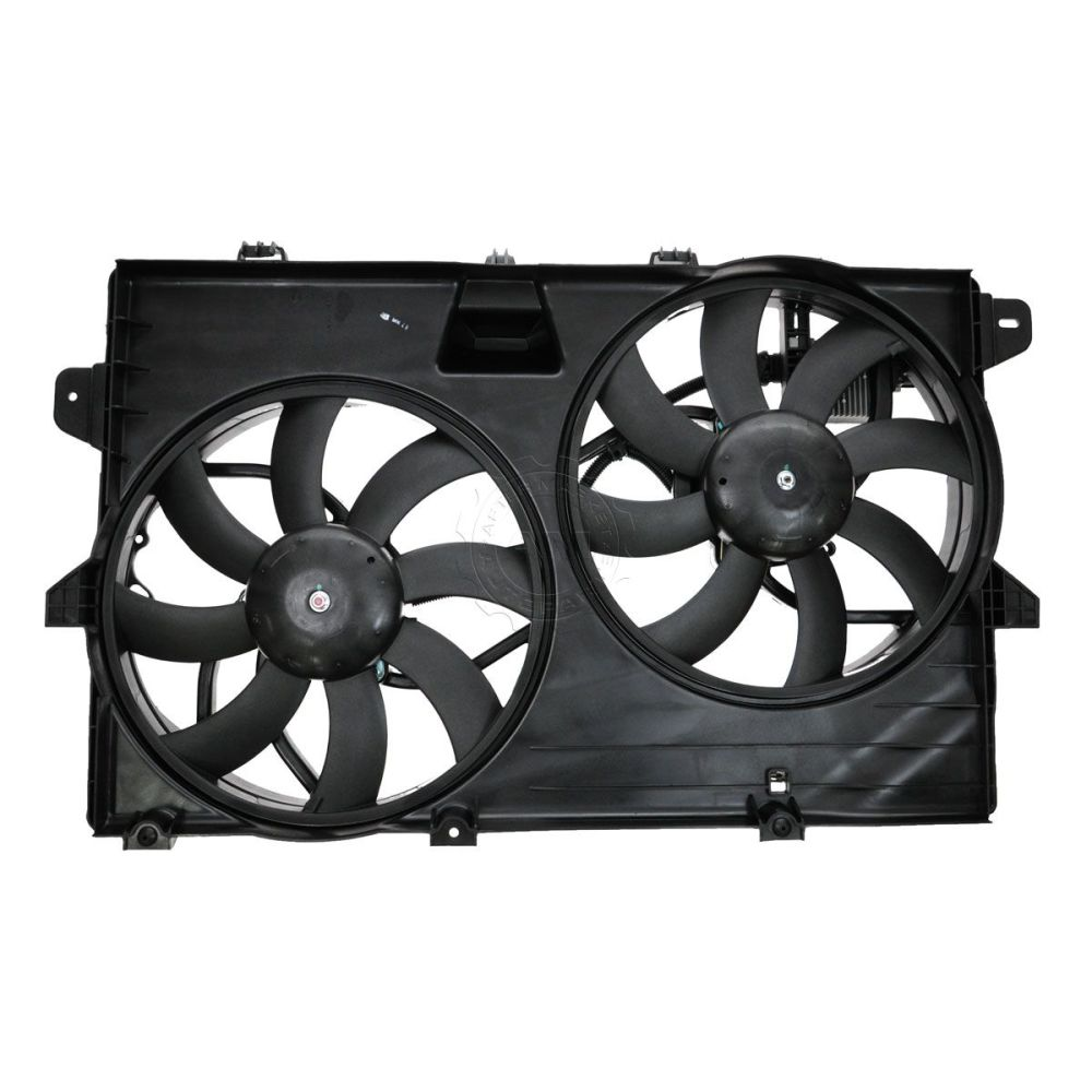 medium resolution of dual radiator cooling fan assembly 7t4z8c607a for ford edge lincoln mkx