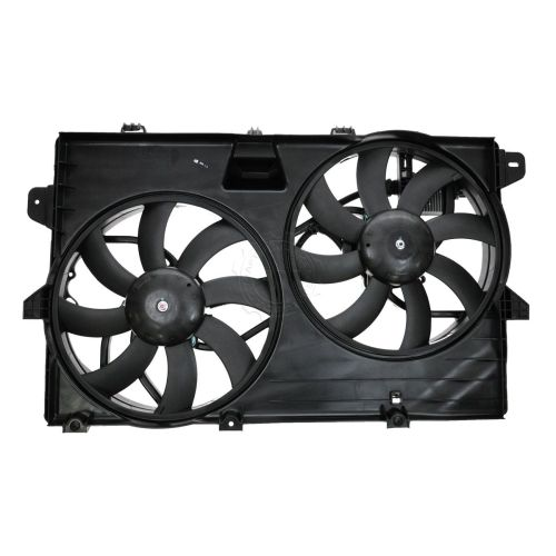 small resolution of dual radiator cooling fan assembly 7t4z8c607a for ford edge lincoln mkx
