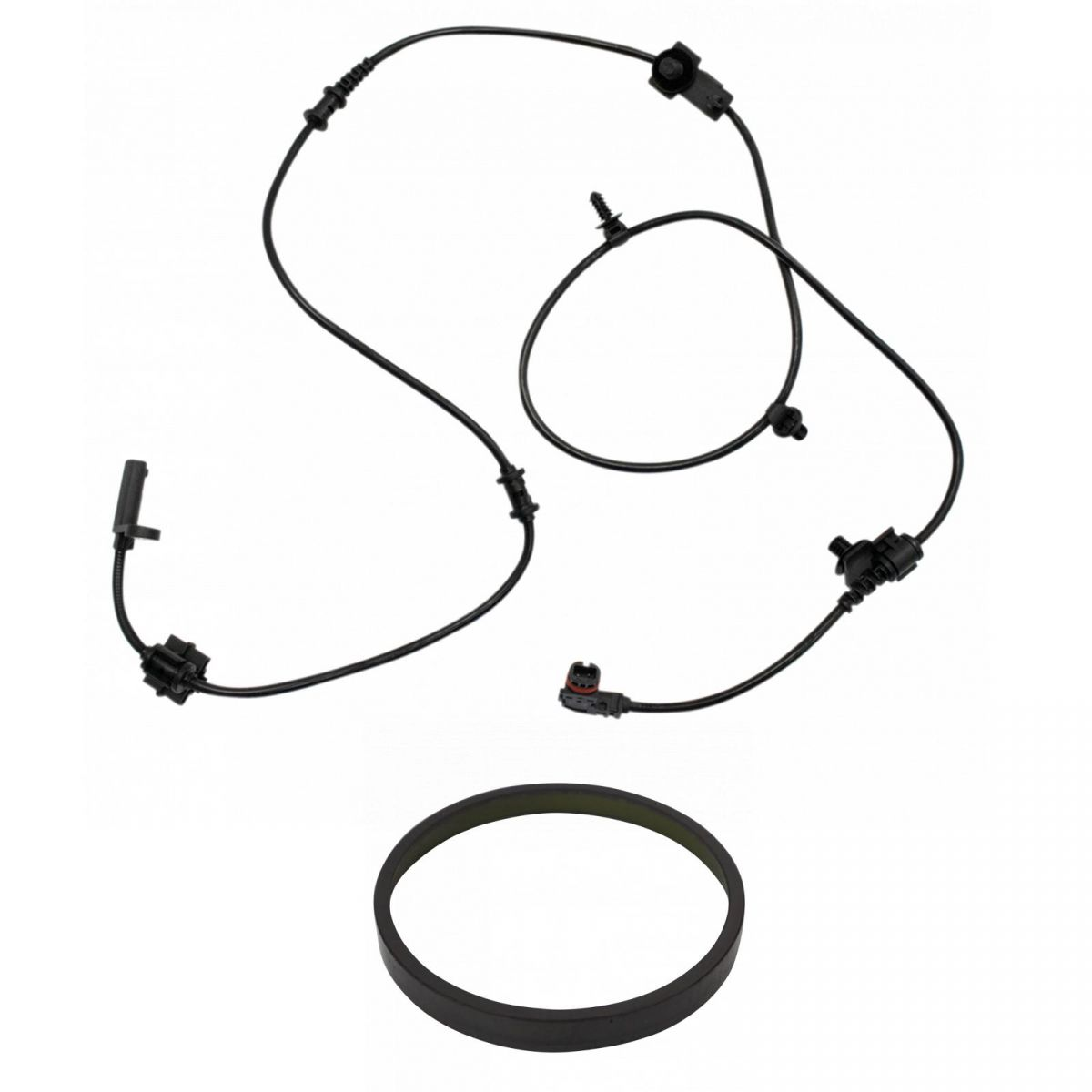 Rear LH ABS Wheel Speed Sensor w/ Magnetic Tone Ring for