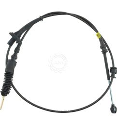 oem automatic transmission shift shifter cable assembly for ford lincoln mercury [ 1200 x 1200 Pixel ]