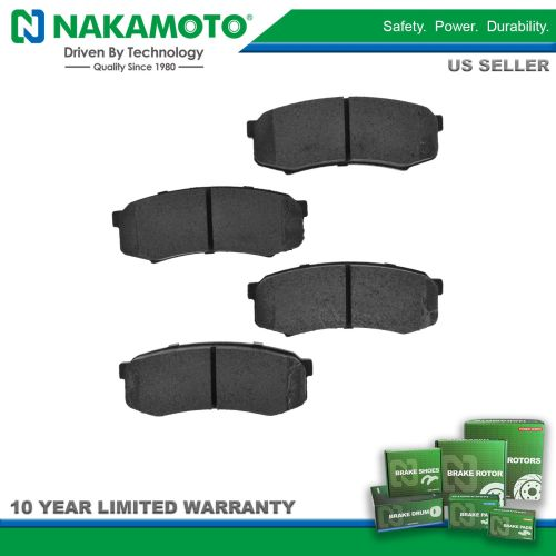 small resolution of nakamoto brake pads premium posi metallic rear kit for toyota sequoia 4runner