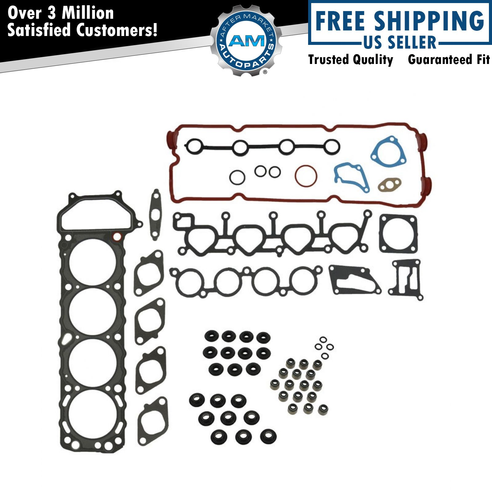 Engine Cylinder Head Gasket Set Kit For 93 01 Nissan