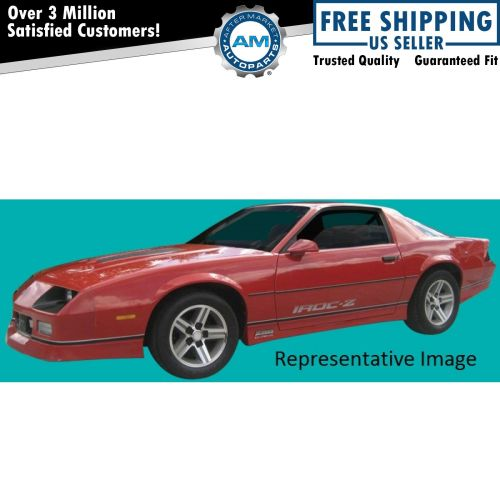 small resolution of decal stripe silver black pre molded 9 piece kit for 85 87 chevy camaro iroc