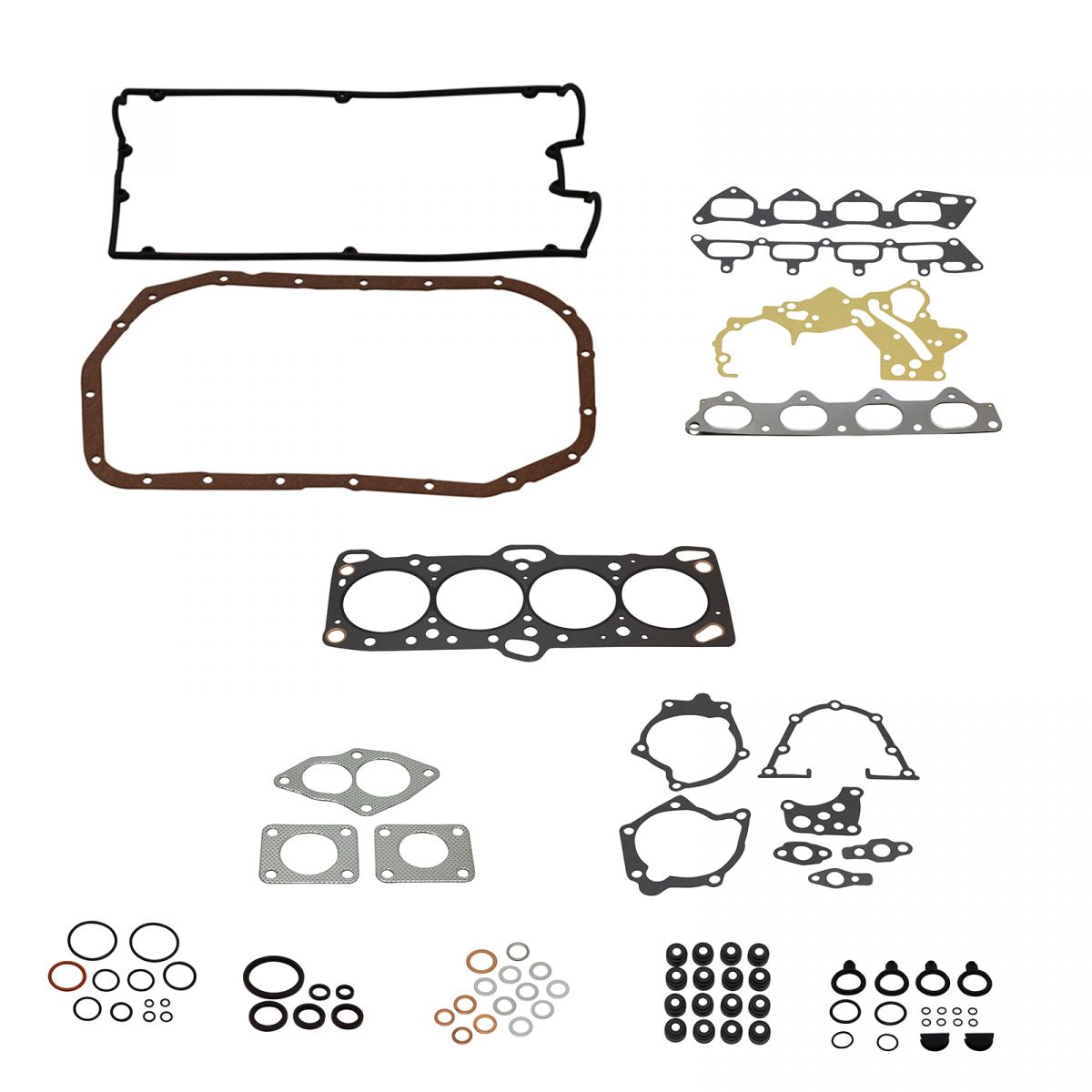 Complete Engine Gasket Set Kit For Eclipse Talon Tsi 2 0l