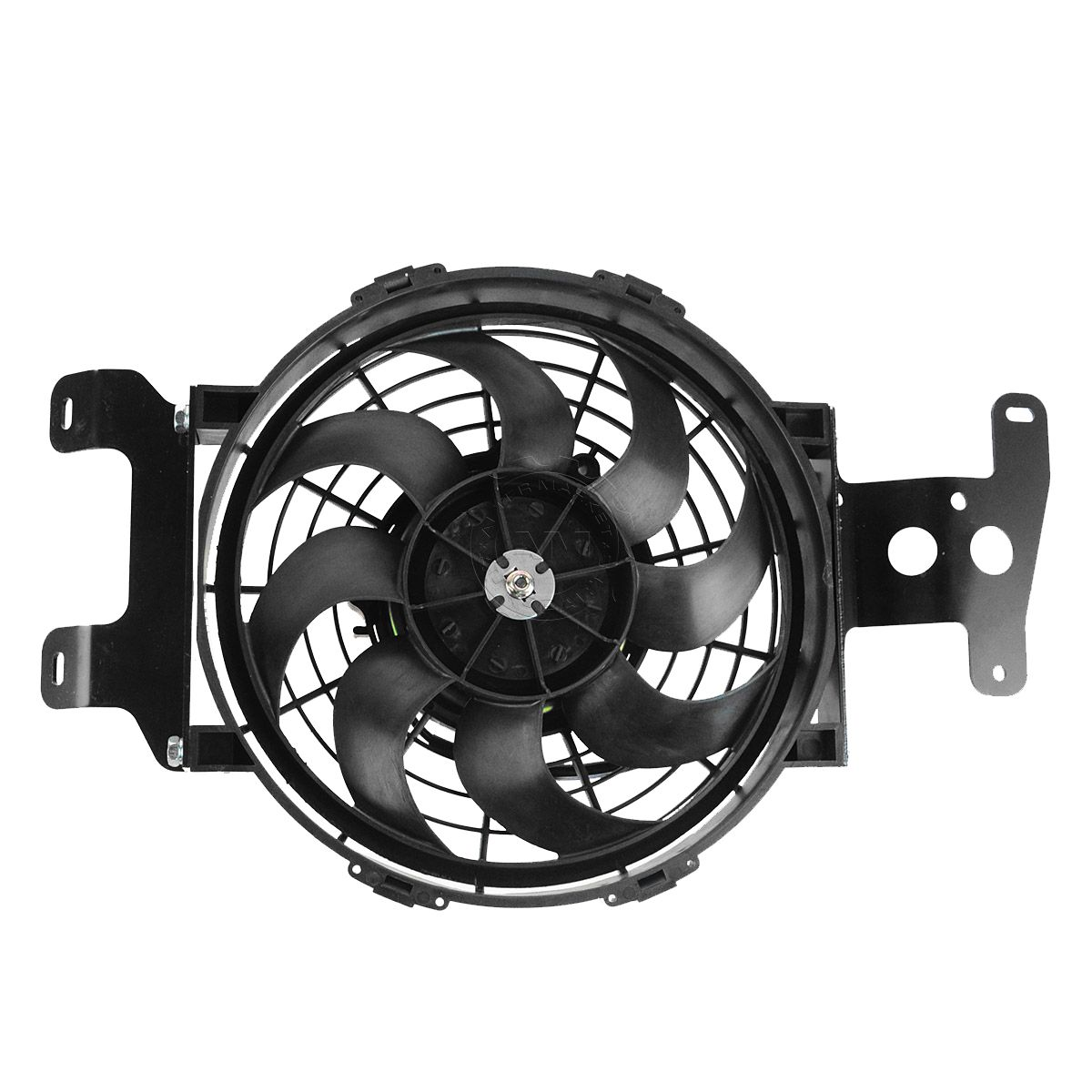 hight resolution of radiator cooling fan assembly for 02 10 ford explorer 4 door mercury mountaineer