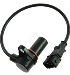 dorman timing cover or bell housing mounted push in type speed sensor for mack [ 1200 x 1200 Pixel ]