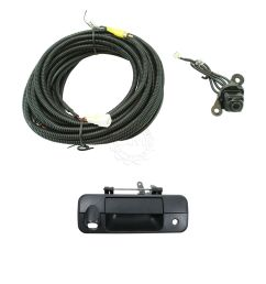 rear view camera add on kit w wiring harness tailgate handle for tundra truck [ 1200 x 1200 Pixel ]