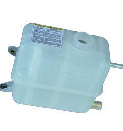 oem radiator coolant overflow tank bottle for 94 97 ford f250 f350 powerstroke [ 1200 x 1200 Pixel ]