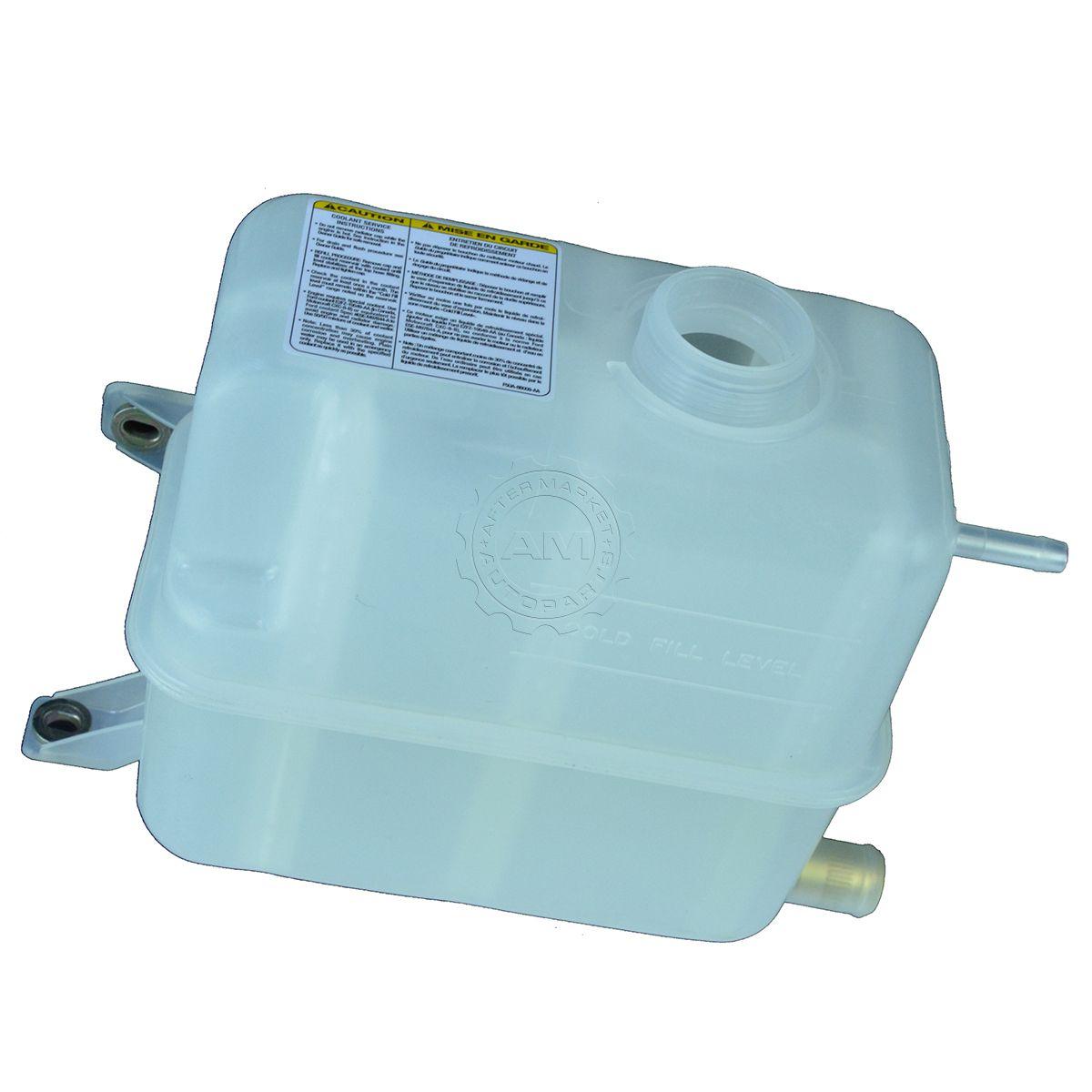 hight resolution of oem radiator coolant overflow tank bottle for 94 97 ford f250 f350 powerstroke
