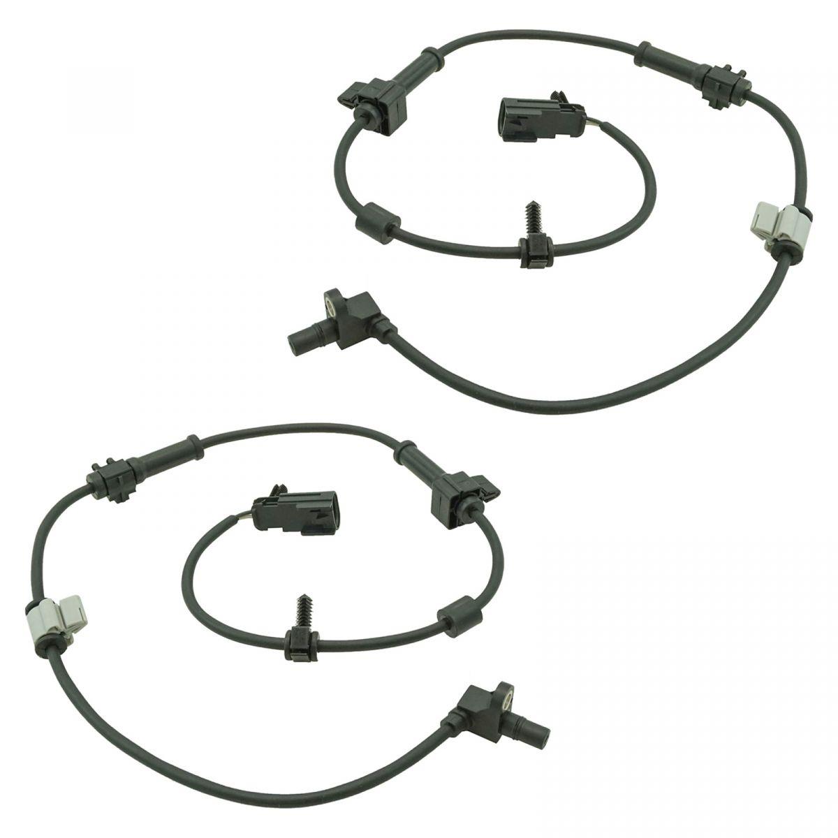 Abs Sensor Front Pair For Chevy Trailblazer Envoy 9 7x