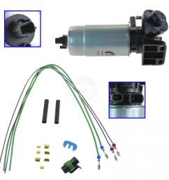 oem mopar oil filter water separator with wire harness kit for jeep liberty 2 8l [ 1200 x 1200 Pixel ]