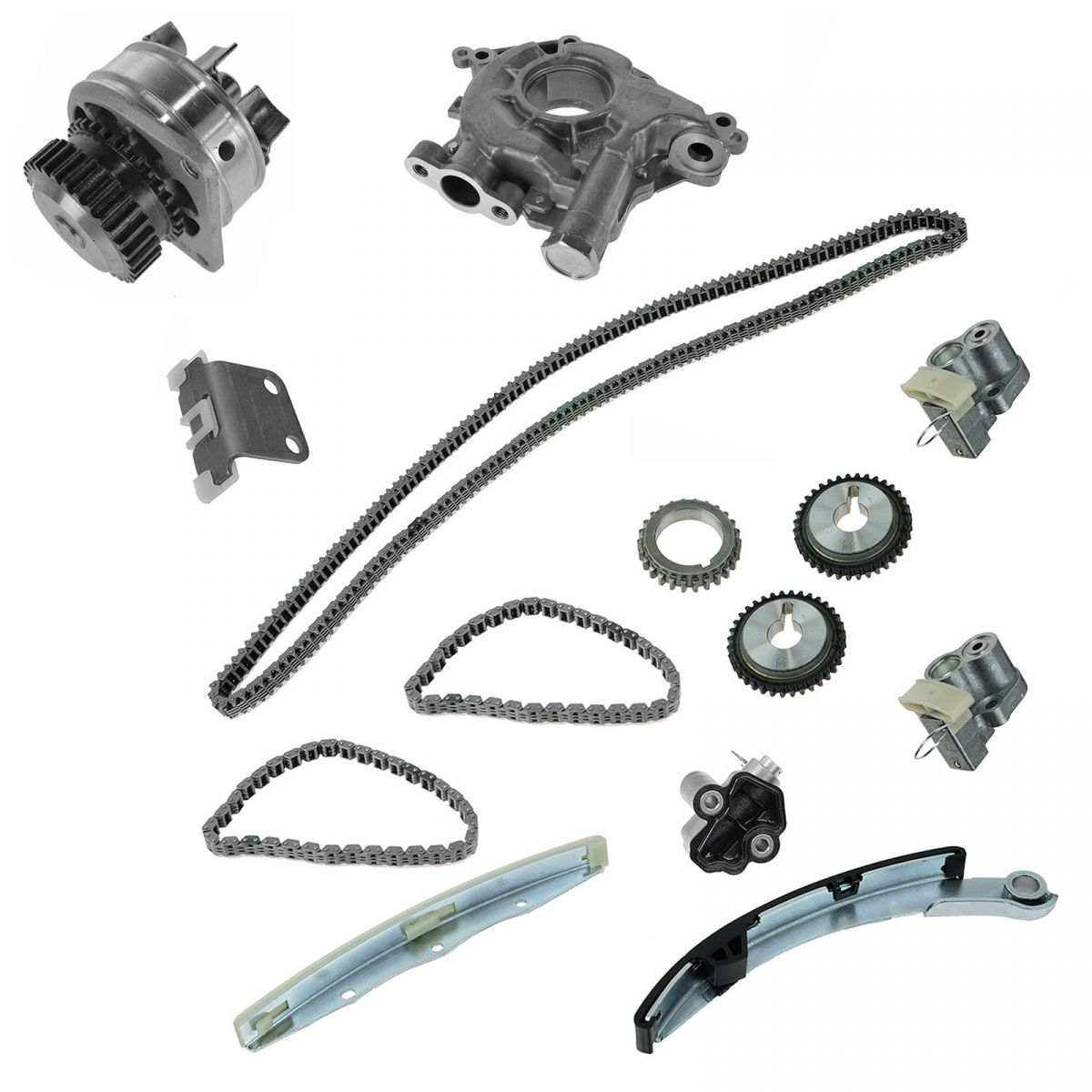 Timing Chain With Water Oil Pump Kit Set for Nissan Altima