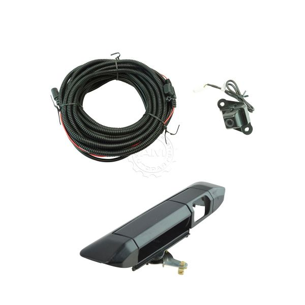 Rear View Camera Add Kit With Wiring Harness & Tailgate