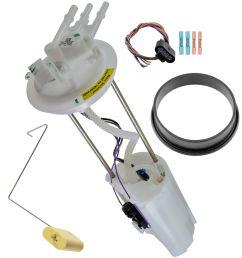 delphi fg0271 electric fuel pump sending unit module for chevy gmc pickup new [ 1200 x 1200 Pixel ]