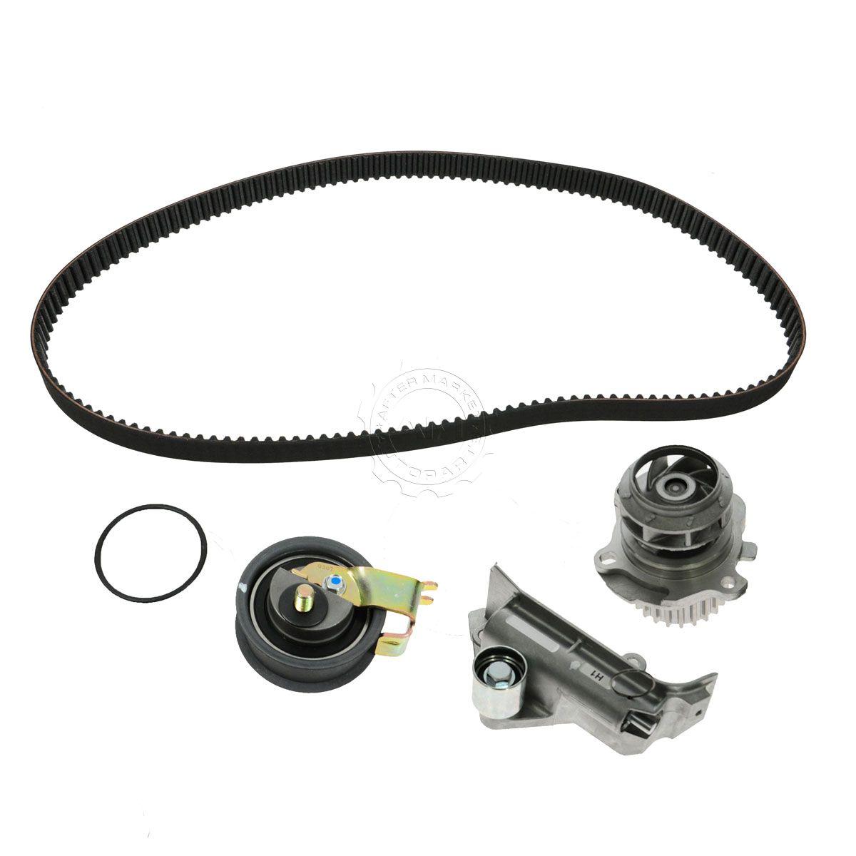 Gates 4 Piece Timing Belt Kit Water Pump for 99 01 VW