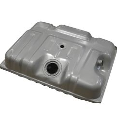 18 gallon rear mount gas fuel tank for 90 96 ford f series pickup truck [ 1200 x 1200 Pixel ]