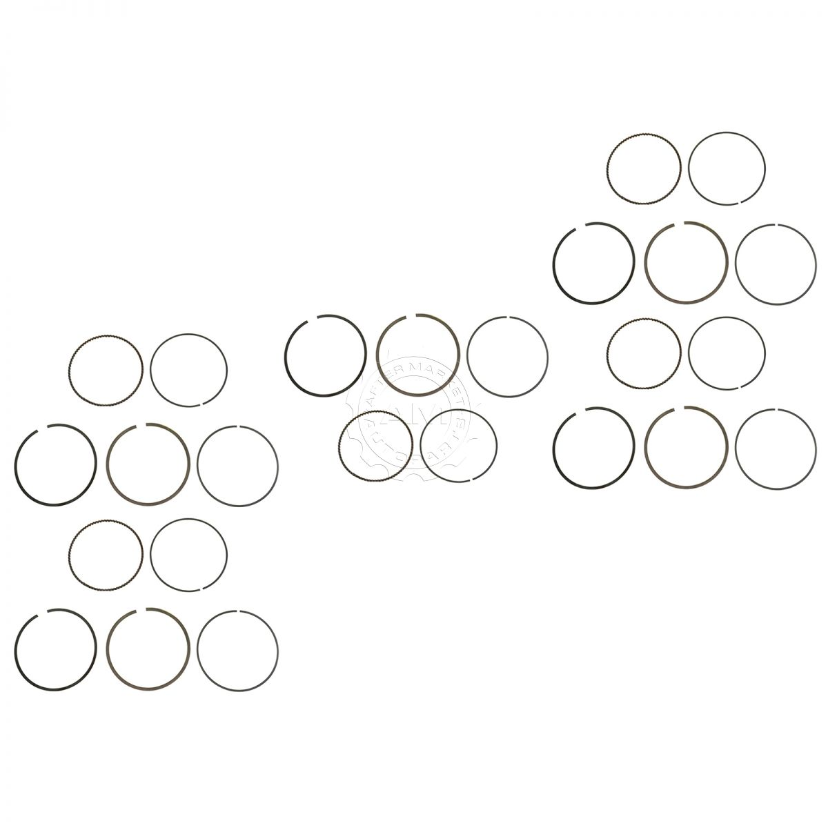 Oem Engine Piston Ring Kit Set Of 5 Direct Fit For 4 6