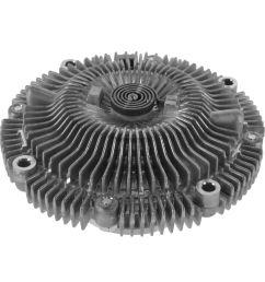 radiator cooling fan clutch for nissan frontier xterra pathfinder infiniti qx4 [ 1200 x 1200 Pixel ]