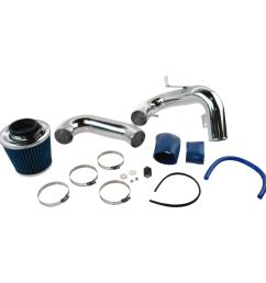 performance cold air intake cai with blue air filter for 00 05 toyota celica new [ 1200 x 1200 Pixel ]