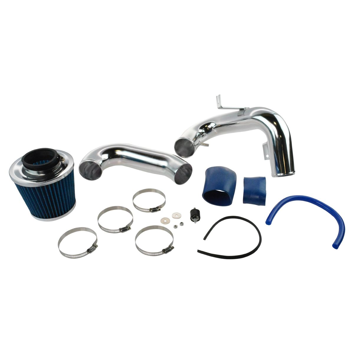 hight resolution of performance cold air intake cai with blue air filter for 00 05 toyota celica new