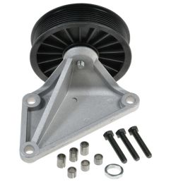 dorman a c bypass pulley for 93 97 ford f250 f350 e350 pickup truck [ 1200 x 1200 Pixel ]