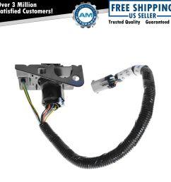 ford 4 7 pin trailer tow wiring harness w plug bracket 7 wire trailer light [ 1200 x 1200 Pixel ]