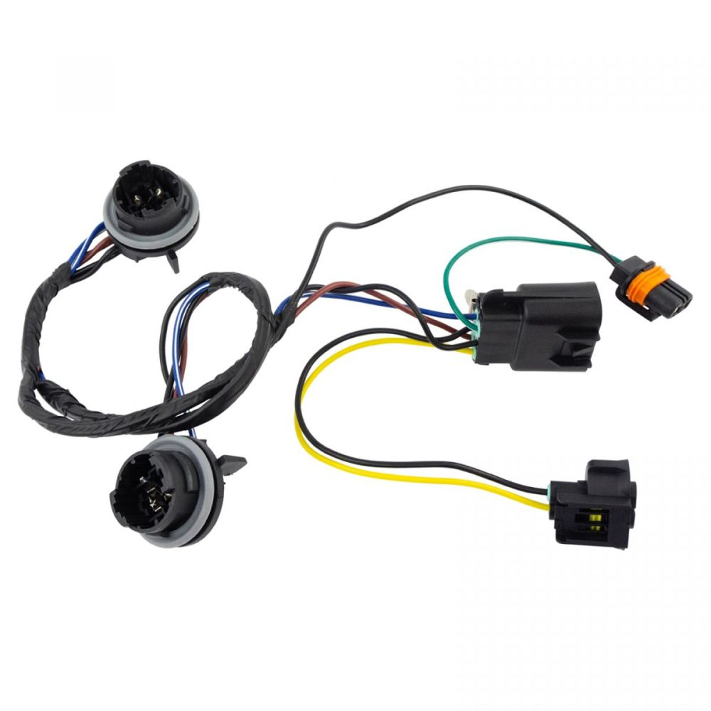 medium resolution of dorman 645 745 headlight lamp wiring harness lh or rh for chevy pickup truck new