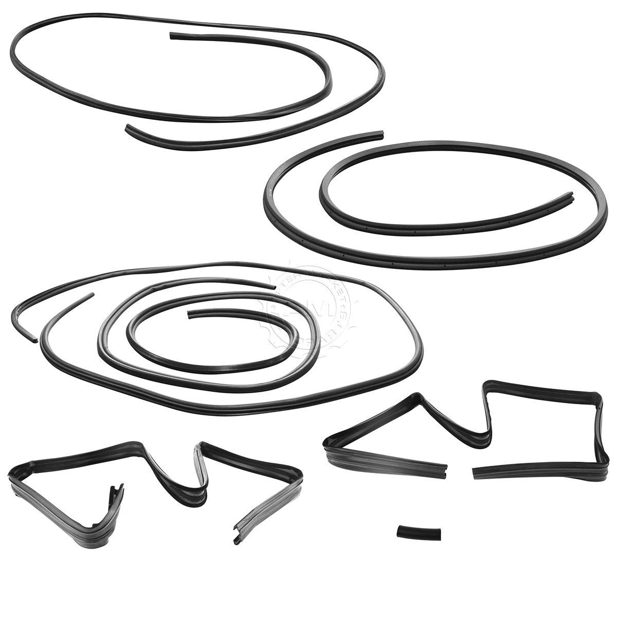 6 Piece Complete Weatherstrip Kit Set for Chrysler Dodge