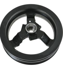 harmonic balancer crankshaft pulley for chrysler dodge intrepid plymouth v6 [ 1200 x 1200 Pixel ]