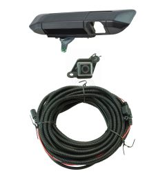 rear view camera add on kit w wiring harness tailgate handle for tacoma new [ 1200 x 1200 Pixel ]