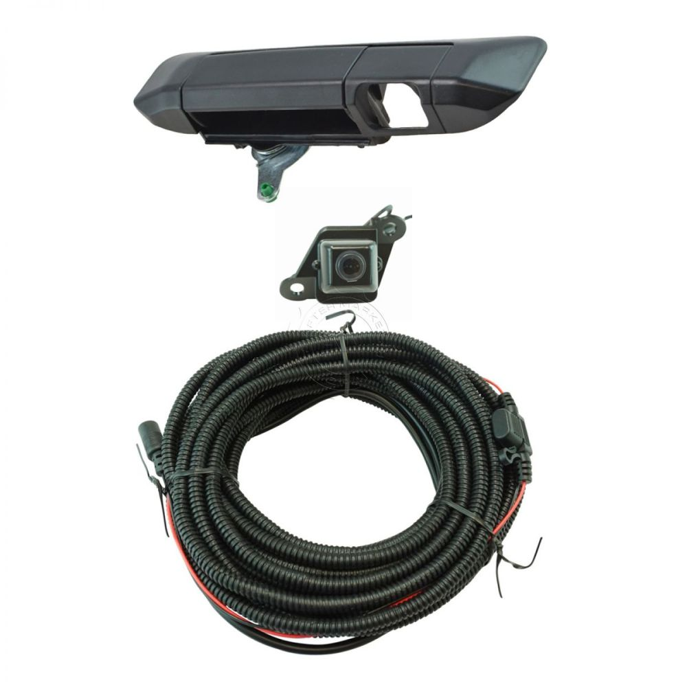 medium resolution of rear view camera add on kit w wiring harness tailgate handle for tacoma new