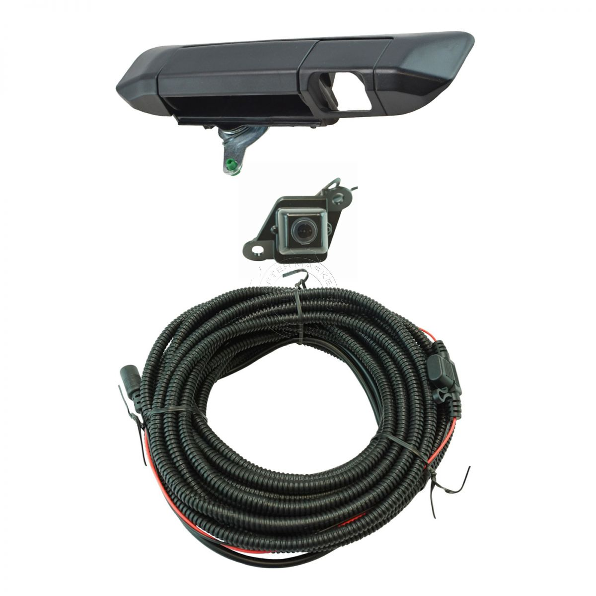 hight resolution of rear view camera add on kit w wiring harness tailgate handle for tacoma new