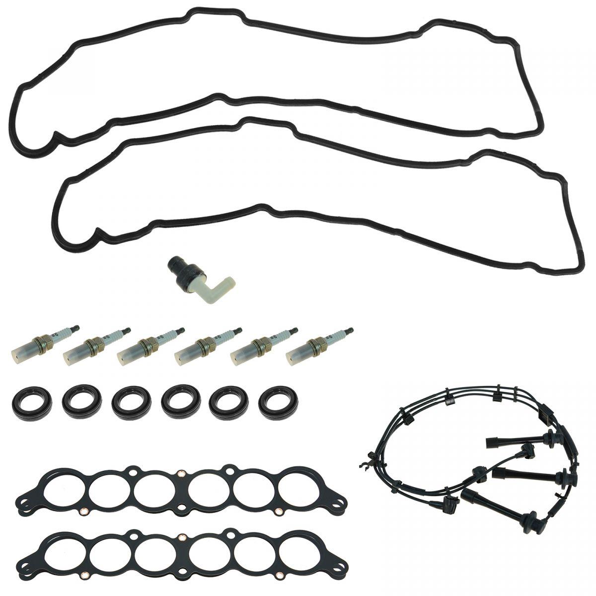 OEM Tune Up Kit & Gasket Set 18 Piece for Toyota Lexus V6