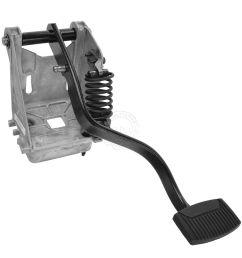 oem clutch pedal assembly w bracket for ford super duty f250 f350 f450 f550 [ 1200 x 1200 Pixel ]