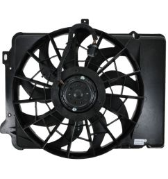 radiator cooling fan assembly for ford taurus sable continental [ 1200 x 1200 Pixel ]