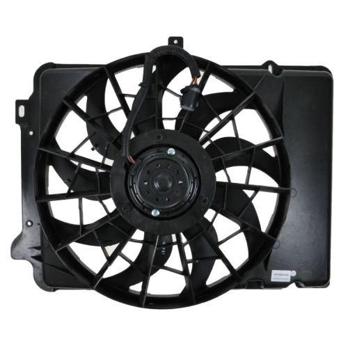 small resolution of radiator cooling fan assembly for ford taurus sable continental