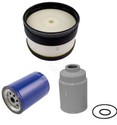 ac delco air oil fuel filter set of 3 for chevy gmc 6 6l duramax turbo [ 1200 x 1200 Pixel ]