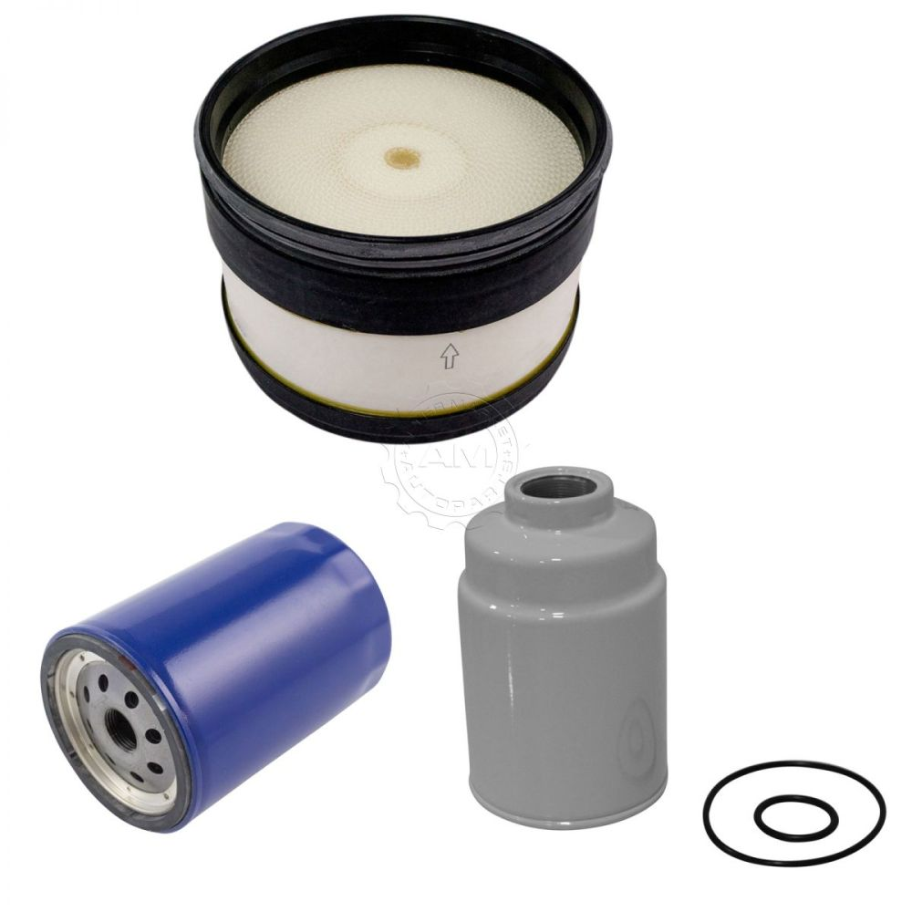 medium resolution of ac delco air oil fuel filter set of 3 for chevy gmc 6 6l duramax turbo